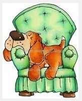 Retired Pup Sleeping