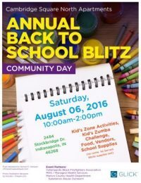 Annual Back to School Blitz