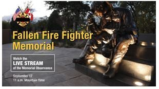 16.0917 IAFF Fallen Fire Fighter Memorial