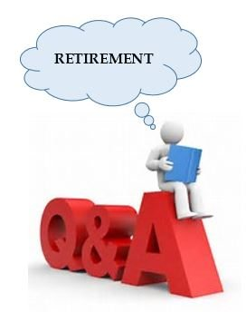 Retirement Q&A Clip Art